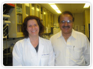 Dr.Raj Harjani with Dr Susan Eshleman from Johns Hopkins Medical institute, Baltimore, Maryland MD,USA.